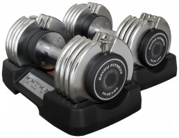 Bayou Fitness 50 Pound Dumbbells