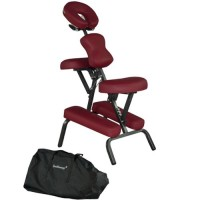 BestMassage Burgundy 4 Inch Portable