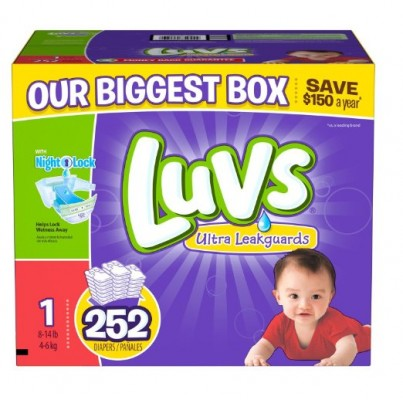 Luvs With Ultra Leakguards Diapers