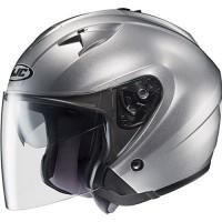 Matte & Metallic Open-Face Helmet