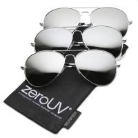 zerUV Premium Mirrored Aviator